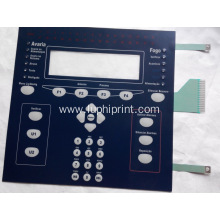 LED Embossing Polydome Membrane Keypad Shielding Layer